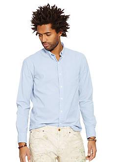 Denim & Supply Ralph Lauren Long Sleeve Poplin Gingham Shirt
