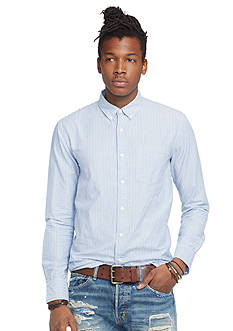 Denim & Supply Ralph Lauren Striped Cotton Sport Shirt