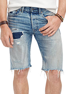 Denim & Supply Ralph Lauren Cotton Slim Novelty Denim Pike Shorts