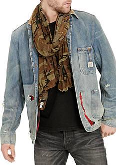 Denim & Supply Ralph Lauren Distressed Denim Chore Jacket
