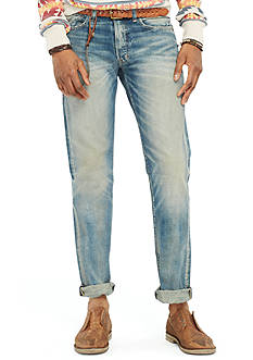 Denim & Supply Ralph Lauren Slim-Fit Lockwood-Wash Jeans