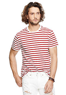Denim & Supply Ralph Lauren Striped Crewneck T-Shirt