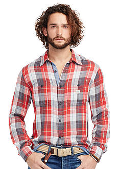 Denim & Supply Ralph Lauren Plaid Cotton Shirt