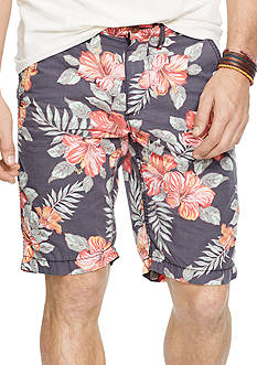Denim & Supply Ralph Lauren Floral-Print Poplin Shorts