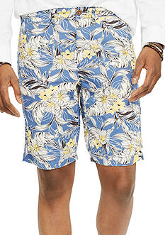 Denim & Supply Ralph Lauren Tropical-Print Cotton Shorts