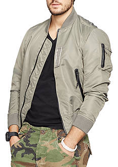 Denim & Supply Ralph Lauren Twill Bomber Jacket