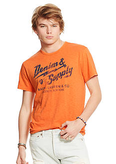 Denim & Supply Ralph Lauren Slub Jersey Graphic Tee