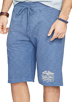 Denim & Supply Ralph Lauren Cotton Jersey Athletic Shorts