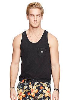 Denim & Supply Ralph Lauren Slub Cotton Jersey Pocket Tank