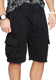 Denim & Supply Ralph Lauren Cotton Jersey Cargo Shorts