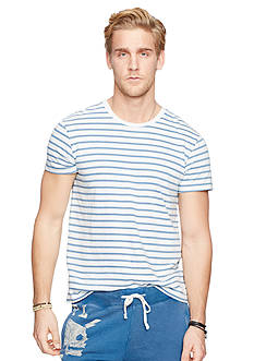 Denim & Supply Ralph Lauren Striped Crewneck T-Shirt