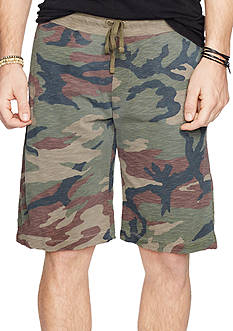 Denim & Supply Ralph Lauren Slub Cotton Jersey Shorts