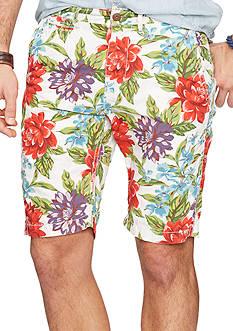Denim & Supply Ralph Lauren Floral Cotton Chino Shorts