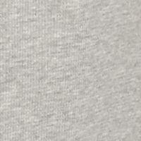Mens Workout Clothes: Heather Gray/Xtra Camo Realtree® Long Sleeve Logo- Camo Sleeves