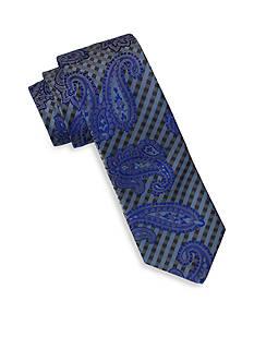 Andrew Fezza Blue Paisley Tie