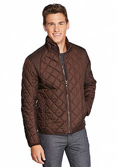 Andrew Marc Floyd Polyfill Quilt Stand Collar Coat