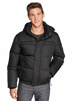 Andrew Marc Artica Down Bomber with Hood