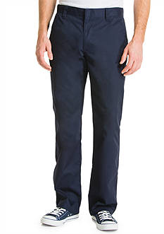 Lee Uniforms Slim Fit Straight Leg Pants