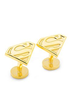 Cufflinks Inc Gold Superman Shield Cufflinks