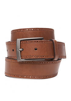 Tommy Bahama Perforated Edge Leather Belt