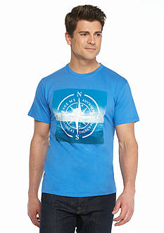 Ocean & Coast Take Me Anywhere Compass Graphic Tee