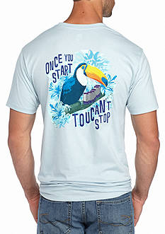Ocean & Coast Trusty Toucan Ale Graphic Tee