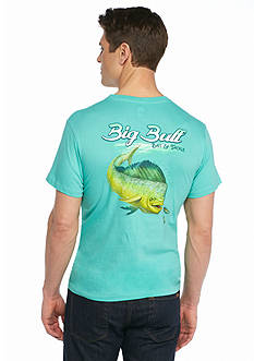 Ocean & Coast Big Bull Bait and Tackle Graphic Tee