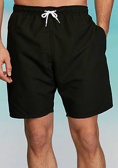 Saddlebred Big & Tall Solid Swim Trunks