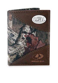 ZEP-PRO Mossy Oak LSU Tigers Tri-fold Wallet