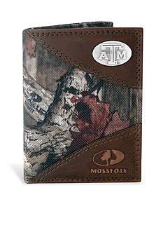 ZEP-PRO Mossy Oak Texas A&M Aggies Tri-fold Wallet
