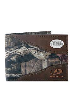 ZEP-PRO Mossy Oak TCU Horned Frogs Passcase Wallet