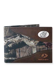 ZEP-PRO Mossy Oak Kansas Jayhawks Passcase Wallet