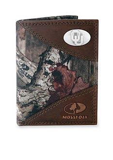 ZEP-PRO Mossy Oak Oklahoma Sooners Tri-fold Wallet