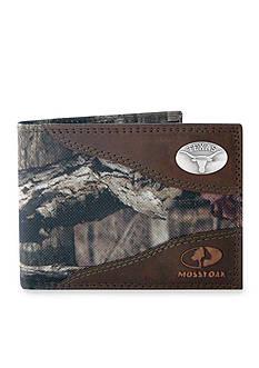 ZEP-PRO Mossy Oak Texas Longhorns Passcase Wallet