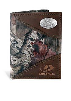 ZEP-PRO Mossy Oak Virginia Cavaliers Tri-fold Wallet