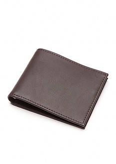 Tallia Orange Pin-Up Girl Insert Bifold Wallet