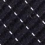 Mens Designer Ties: Black Nautica Adrift Solid Tie
