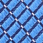 Mens Designer Ties: Blue Nautica Adrift Solid Tie