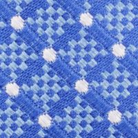 Young Men: Nautica Accessories: Medium Blue Nautica Liner Dot Tie