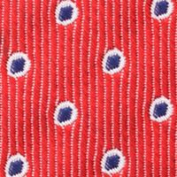 Young Men: Nautica Accessories: Red Nautica Bearing Dot Tie
