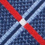 Young Men: Nautica Accessories: Red Nautica Lookout Grid Tie
