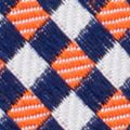 Young Mens Neckties: Orange Nautica Purser Geo Tie