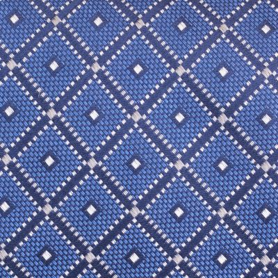 Young Mens Neckties: Navy Nautica Shoal Geometric Tie