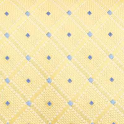 Young Mens Neckties: Yellow Nautica Shoal Geometric Tie