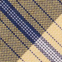 Young Men: Nautica Accessories: Yellow Nautica Waves Plaid Tie
