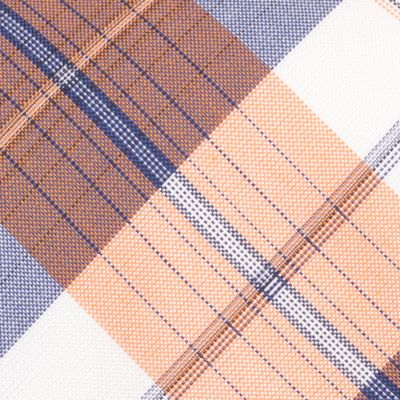 Young Men: Nautica Accessories: Orange Nautica Waves Plaid Tie