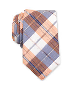 Nautica Waves Plaid Tie