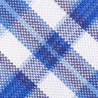 Young Mens Neckties: Blue Nautica Commodore Plaid Tie