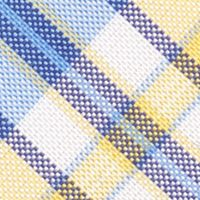 Young Mens Neckties: Yellow Nautica Commodore Plaid Tie