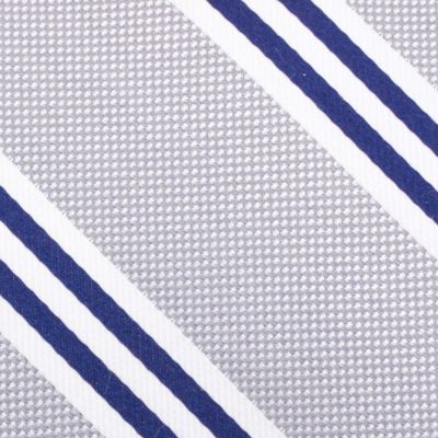 Young Men: Nautica Accessories: Charcoal Nautica Bilge Stripe Tie